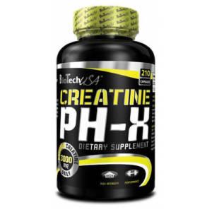 BioTech Creatine pH-X (210 caps)