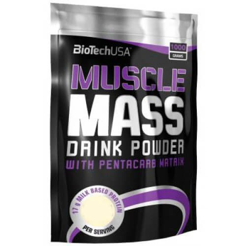 BioTech Muscle Mass (1000 гр)