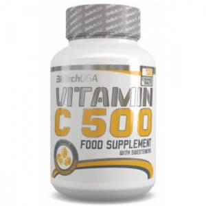 BioTech Vitamin C 500 (120 капс)