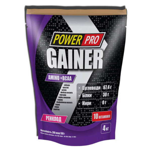 Power Pro Gainer (4000 гр)