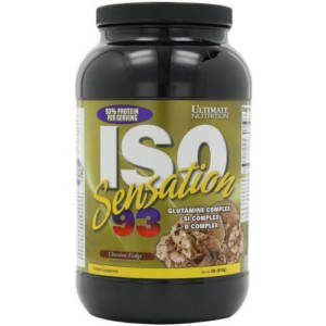 Ultimate Nutrition ISO Sensation 93 (910 гр)