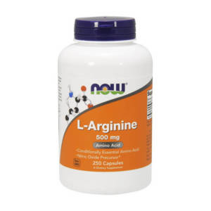 NOW L-Arginine 500 mg (250 caps)
