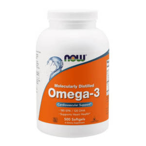 NOW Omega-3 (500 caps)