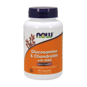 NOW Glucosamine & Chondroitin with MSM (90 caps)