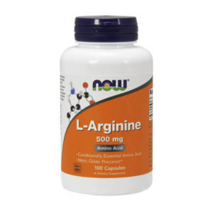 NOW L-Arginine 500 mg (100 caps)