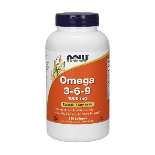 NOW Omega 3-6-9 (250 caps)