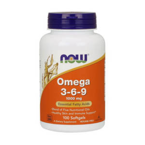 NOW Omega 3-6-9 (100 caps)