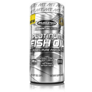 MuscleTech Platinum 100% Fish Oil (100 caps)