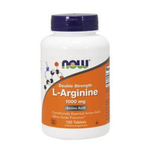 NOW L-Arginine 1000 mg(120 таб)