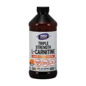 NOW L-Carnitine Liquid 3000 mg(473 ml)