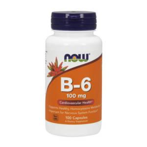 NOW B-6 100 mg(100 caps)