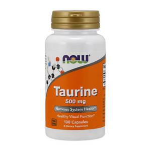 NOW Taurine 500 mg (100 caps)