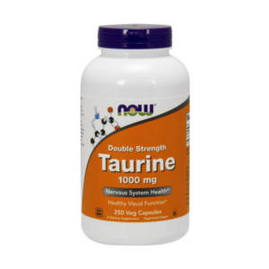 NOW Taurine 1000 mg Double Strength (250 caps)