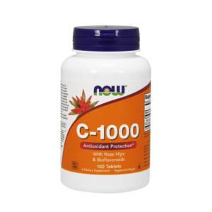 NOW C-1000 with bioflavonoids (100 caps)