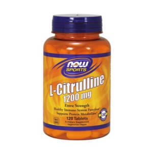 NOW Citrulline 1200 mg (120 таб)