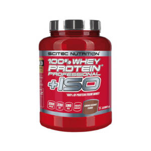 Scitec Nutrition 100% Whey Protein Professional +ISO (2280 гр)