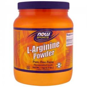 NOW L-Arginine Powder (1000 гр)