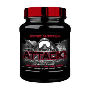Scitec Nutrition Attack 2.0 (720 гр)