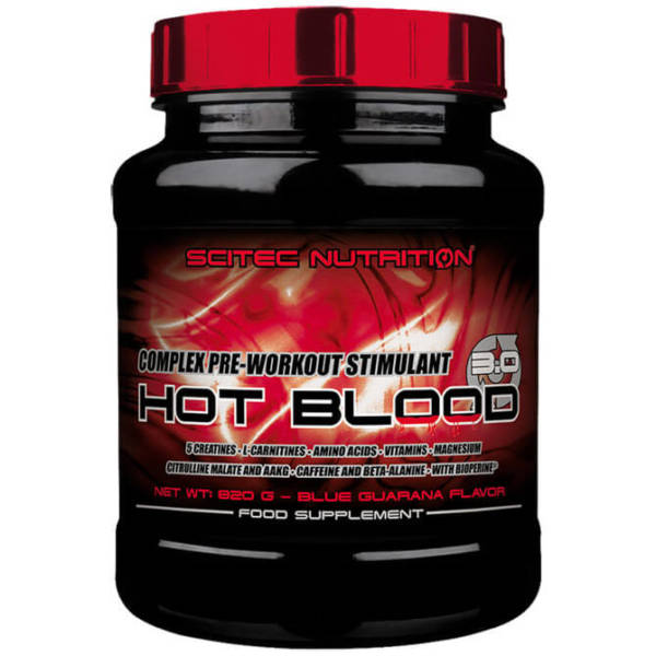 Scitec Nutrition Hot Blood 3.0(820 гр)