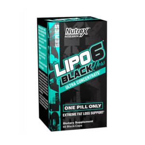 Nutrex Lipo 6 Black Hers Ultra concentrate (60 caps)