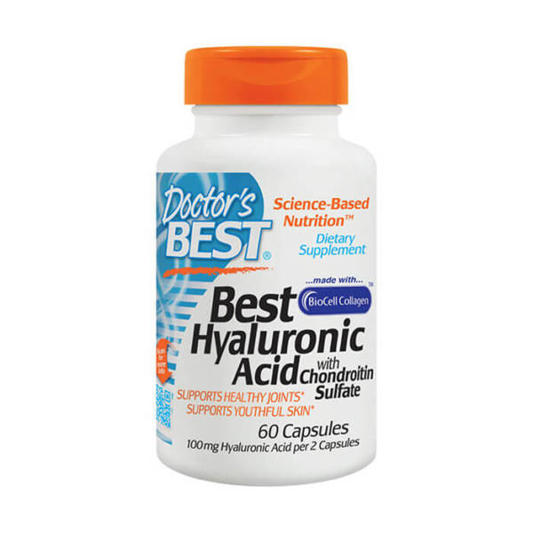 Doctor's BEST Hyaluronic Acid + Chondroitin Sulfate with Collagen (60 caps)