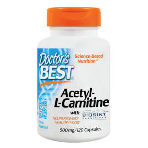 Doctor's BEST Acetyl-L-Carnitine (120 caps)
