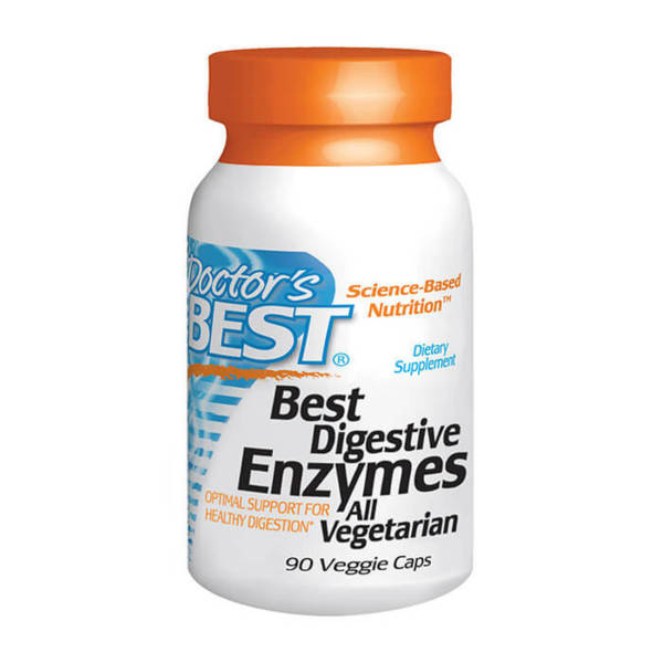 Doctor's BEST Digestive Enzymes (90 caps)