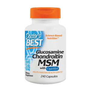 Doctor's BEST Glucosamine Chondroitin MSM (240 caps)