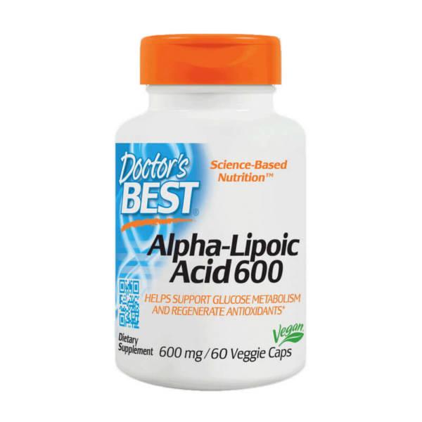 Doctor's BEST Alpha-Lipoic Acid 600 (60 caps)