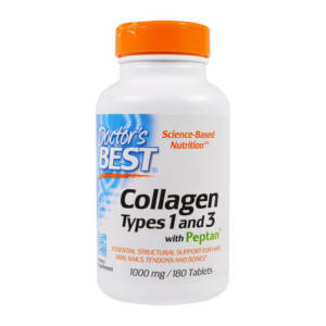 Doctor's BEST Collagen Types 1&3 with Peptan 1000 mg (180 tab)