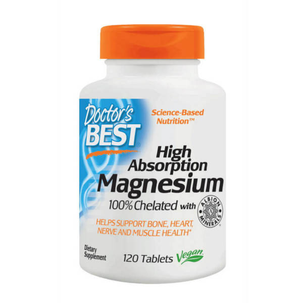 Doctor's BEST Magnesium High Absorption (120 tabs)