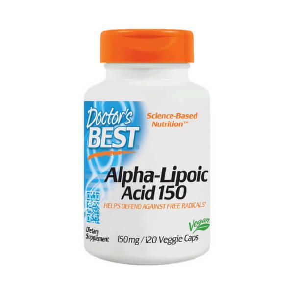 Doctor's BEST Alpha-Lipoic Acid 150 (120 caps)
