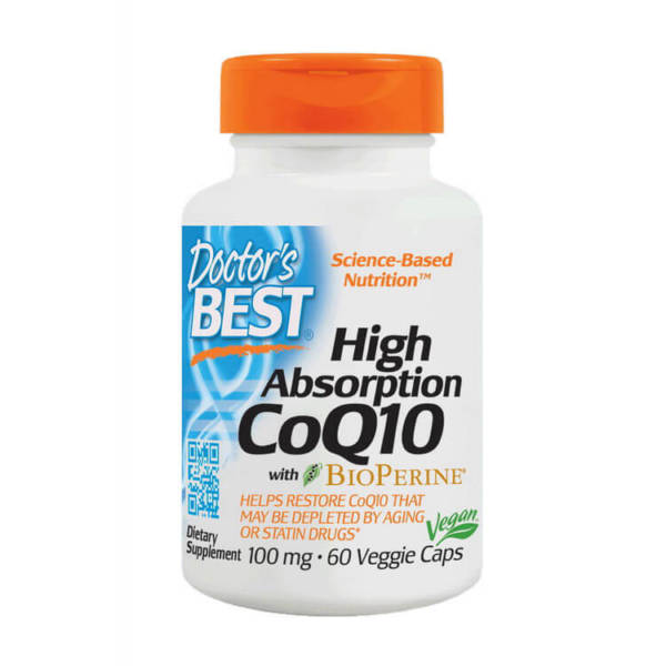 Doctor's BEST High Absorption CoQ10 100 mg with BioPerine (60 caps)