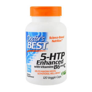 Doctor's BEST 5-HTP Enhanced with Vitamins B6 and C (120 caps)