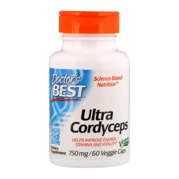 Doctor's BEST Ultra Cordyceps 750 mg (60 caps)