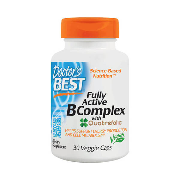 Doctor's BEST Fully Active B Complex (30 caps)
